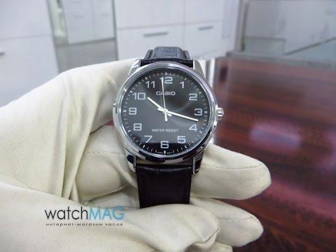 Đồng hồ nam dây da Casio Anh Khuê MTP-V001L-1BUDF