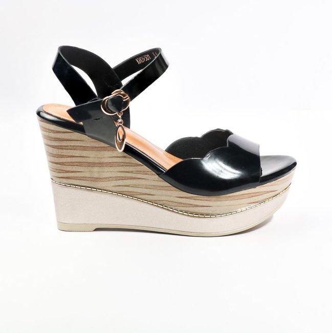 Sandal nữ đế xuồng da bóng sang chảnh kiểu dáng thời trang kết hợp đế xuồng cao phẳng đi lại cực chắc chân (SD74) giá rẻ