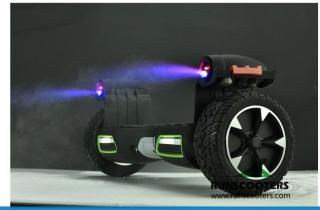 Xe điện cân bằng Homesheel PRO7 Đen thumbnail
