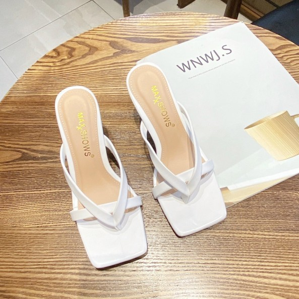 Dép kẹp dép xỏ ngón nữ thời trang got nhọn cao 5 phân êm chân đi lại thoải mái giá rẻ