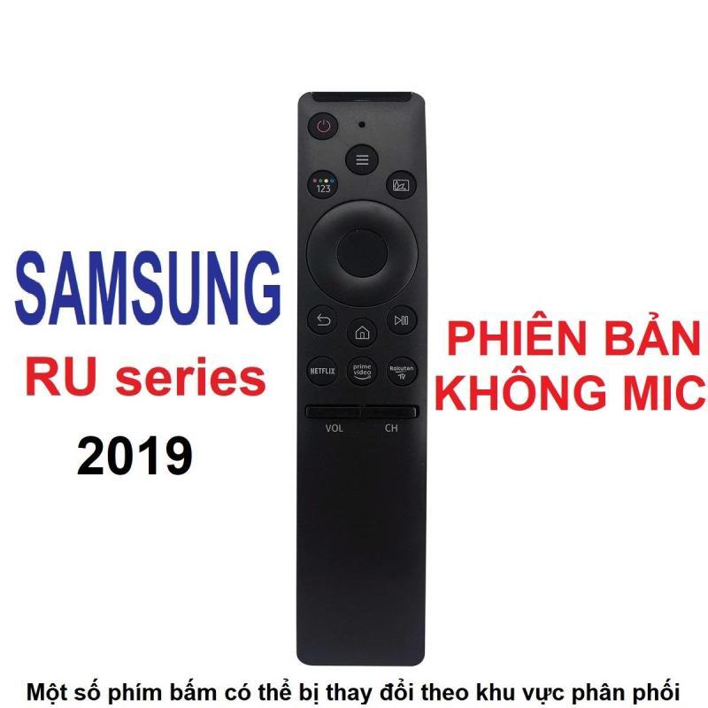 Remote điều khiển tivi SAMSUNG smart dòng RU không mic (One remote - Phiên bản rút gọn) chính hãng