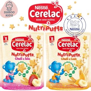 [Free Ship + Mua 2 Combo giảm 5%]Bánh ăn dặm cho bé nestle chính hãng nutri puffs Suboo Kids AD 03 Bánh quy ngọt ngũ cốc ăn dặm cho bé từ 9m+ thumbnail