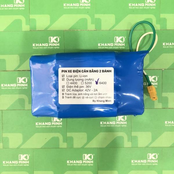 Phân phối Pin xe điện cân bằng 2 bánh 36V 7.0Ah, cell LG dung lượng cao và dòng tải lớn