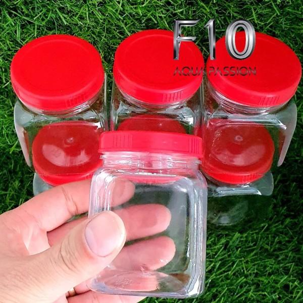 Hộp Nhựa Lọ Nhựa Keo Nhựa Lắp Đỏ Đựng Cám - Gia Vị
