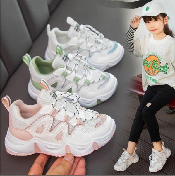 Giá bán Giày thể thao sneaker bé gái 3 đến 13 tuổi - TG086