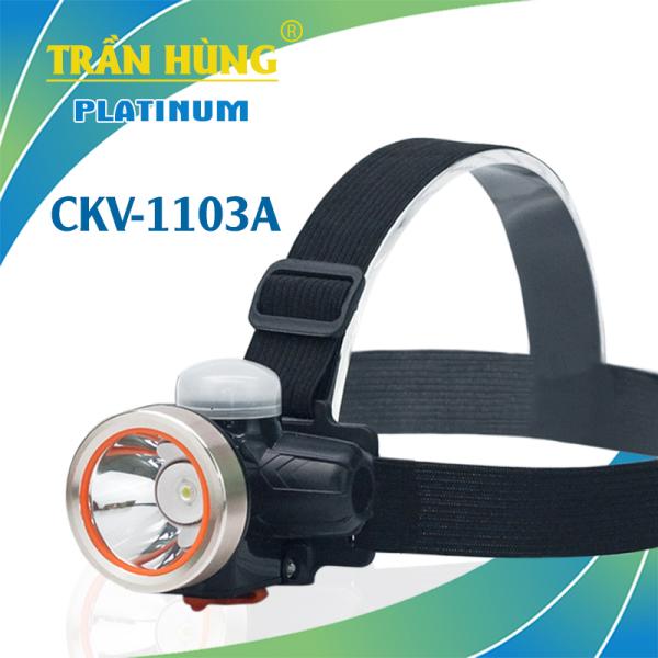 Đèn Pin Đội Đầu Cao Cấp 2 Chế Độ Đèn Bàn CKV-1103A