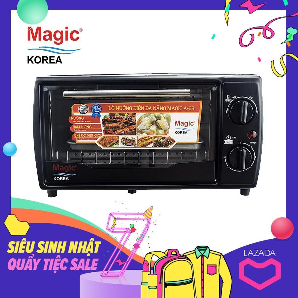 Lò nướng điện đa năng Magic Korea A63 (12 lít)