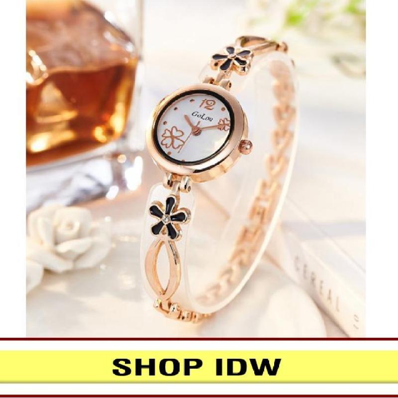 [Có video quay thật] Đồng hồ nữ dây kim loại thời trang Golou IDW S2761 (Nhiều màu lựa chọn)