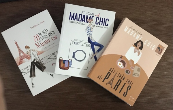 Combo Bộ Sách Madame Chic ( 03 Cuốn )