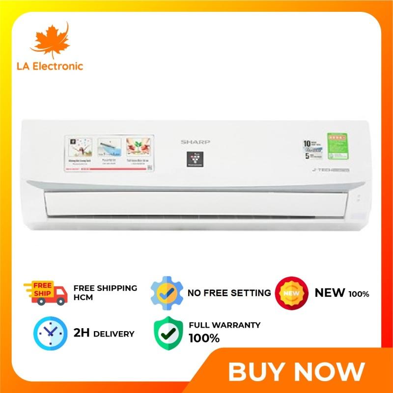 Bảng giá Trả Góp 0% - Máy lạnh - Sharp Inverter 1.5 HP Air Conditioner AH-XP13WMW, thiết kế thông minh, công nghệ hiện đại, hoạt động mạnh mẽ và bền bỉ, có chế độ bảo hành và xuất xứ rõ ràng - Miễn phí vận chuyển HCM