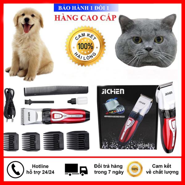 Tông Đơ Cạo Lông Chó Mèo - Tông Đơ Cạo Lông Thú Cưng - Chính Hãng Jichen 0817