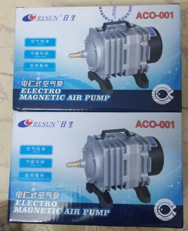 Máy sủi khí oxi bể cá Resun ACO-001 công suất 18W, VUI LÒNG XEM KỸ MÔ TẢ