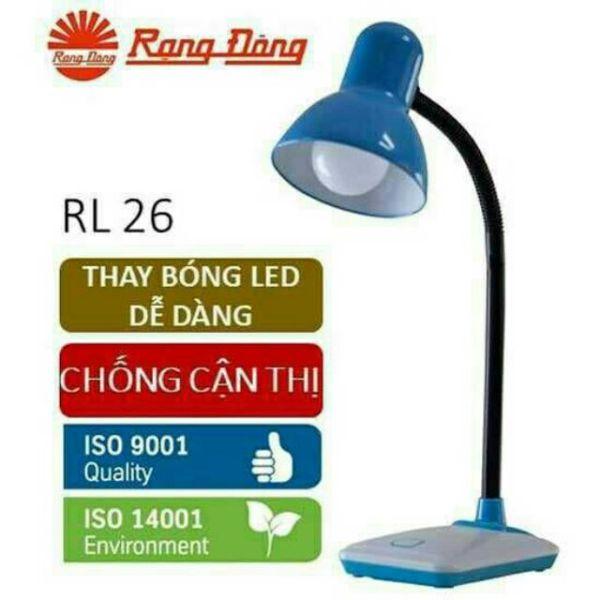 Bảng giá Đèn bàn (đèn học chống cận) LED 5W Rạng Đông RD-RL-26.LED