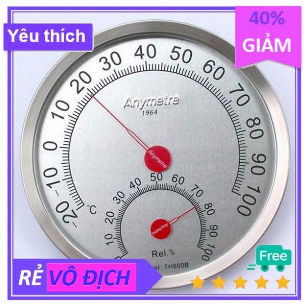 Nơi bán Nhiệt ẩm kế Anymetre TH600B Hàn Quốc full vành thép đo nhiệt độ độ ẩm chính xác độ bền cao