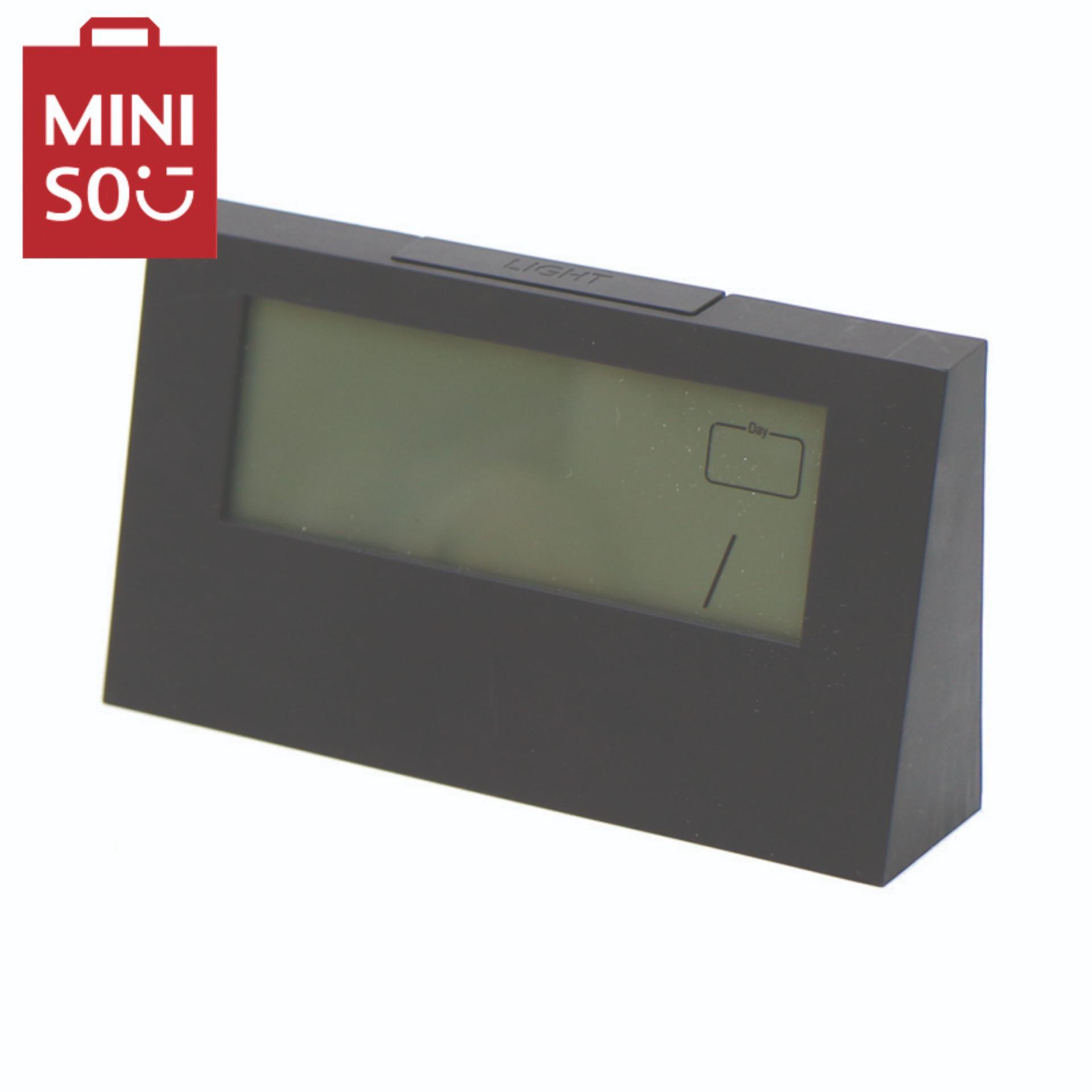 Đồng hồ báo thức Miniso bán chạy