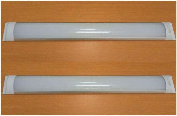 Bộ 2 đèn led Tuýp bán nguyệt 23w 0.6m