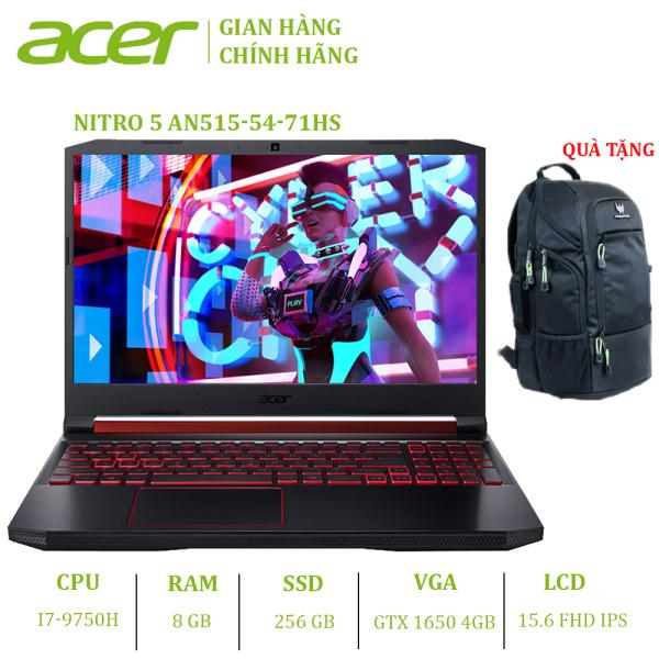 Bảng giá Laptop Acer Nitro 5 AN515-54-71HS (i7-9750H | 8GB | 256GB | VGA GTX 1650 4GB | 15.6 FHD | Win 10) Phong Vũ