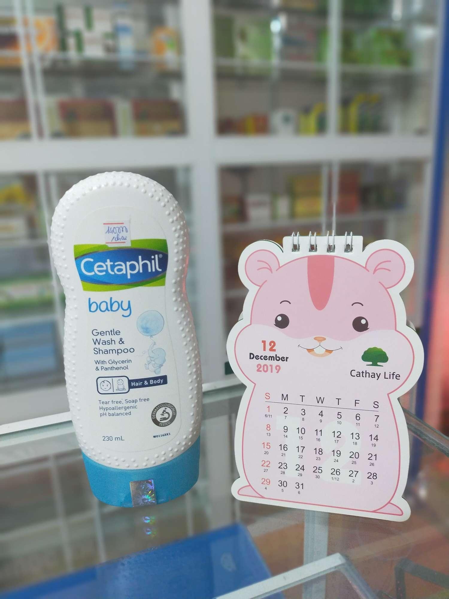 sửa tắm dưỡng ẩm cetaphil gentle wash and shamboo 230ml cao cấp