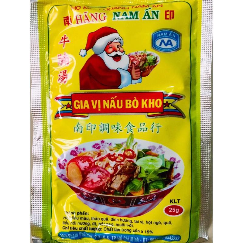bột gia vị nấu Bò Kho Nam Ấn gói 25g