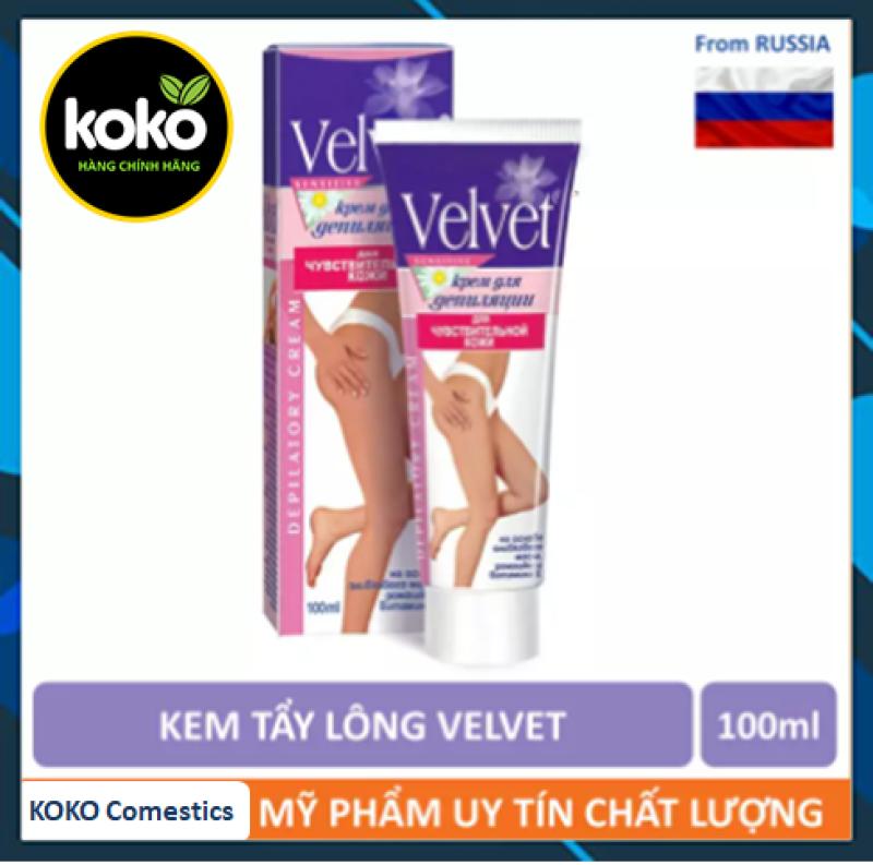 [HCM]Kem Tẩy Lông Velvet 100ml koko
