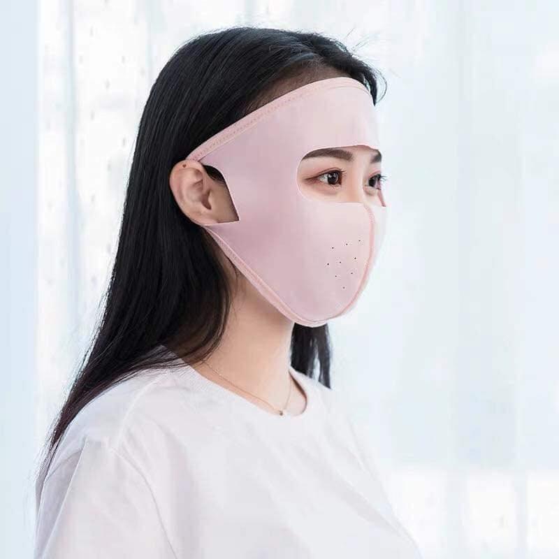 Khẩu trang nữ kín mặt trán, khẩu trang nữ mẫu mới 2019 hot