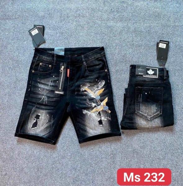 💥💞Quần short jean nam, Quần short nam màu xanh đen rách xước phối khóa kéo lệch và họa tiết cực đẹp, chất vải mềm mịn thoải mái chuẩn thời trang cao cấp hàng Shop TH-FASHION - GQSJN105015