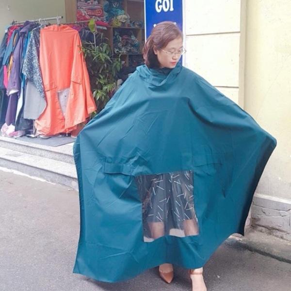 Áo mưa cánh dơi cao cấp 14m vải nhập sịn khánh chi 2 đầu, cam kết sản phẩm đúng mô tả, chất lượng đảm bảo an toàn đến sức khỏe người sử dụng