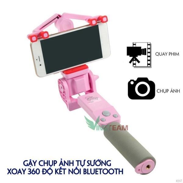 Gậy Chụp Ảnh Tự Sướng Xoay 360 Độ Kết Nối Bluetooth Cho Điện Thoại Thông Minh R1 -Dc4002