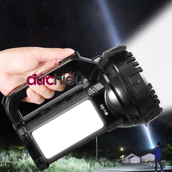 Bảng giá [ Hàng bao chuẩn ] Đèn pin siêu sáng cầm tay loại to đa năng tích điện DP LED - Đức Hiếu Shop