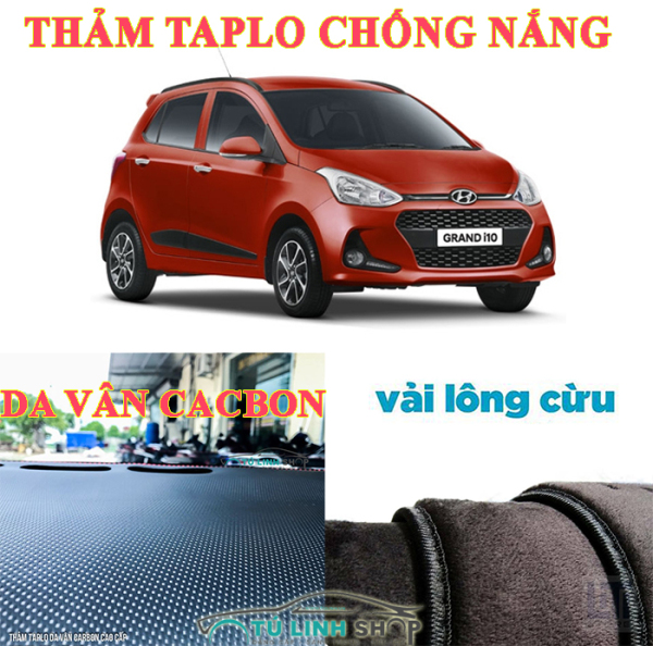 Thảm trải taplo chống nhiệt chuyên dùng cho dòng xe o tô hyundai i10 2010 dễ dàng vệ sinh mỗi khi sử dụng