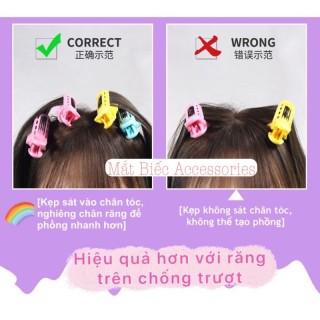 Hàng Loại 1 Kẹp Uốn Tóc Tạo Kiểu Phong Cách Hàn Quốc Thời Trang Cho Nữ, Tạo Phồng Chân Tóc FREESHIP 5
