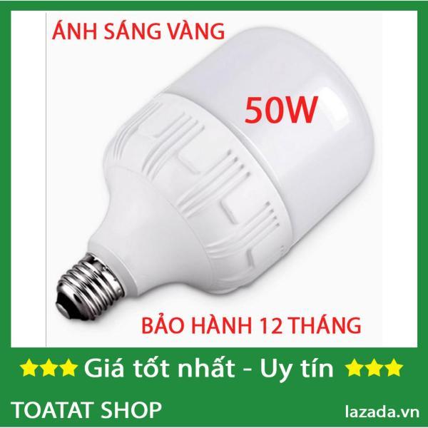 [Sĩ] Bộ 1, 2 hoặc 3 Bóng đèn led trụ 50w (vàng). Màu sáng: Warm trắng (3000-3200K), Pure White (6000K-6500K) Bảo hành: 12 Tháng.
