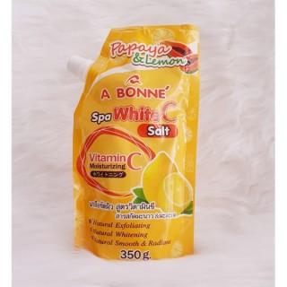 Muối tắm sữa bò tẩy tế bào chết A Bonne Spa Milk Salt Thái Lan 350g thumbnail
