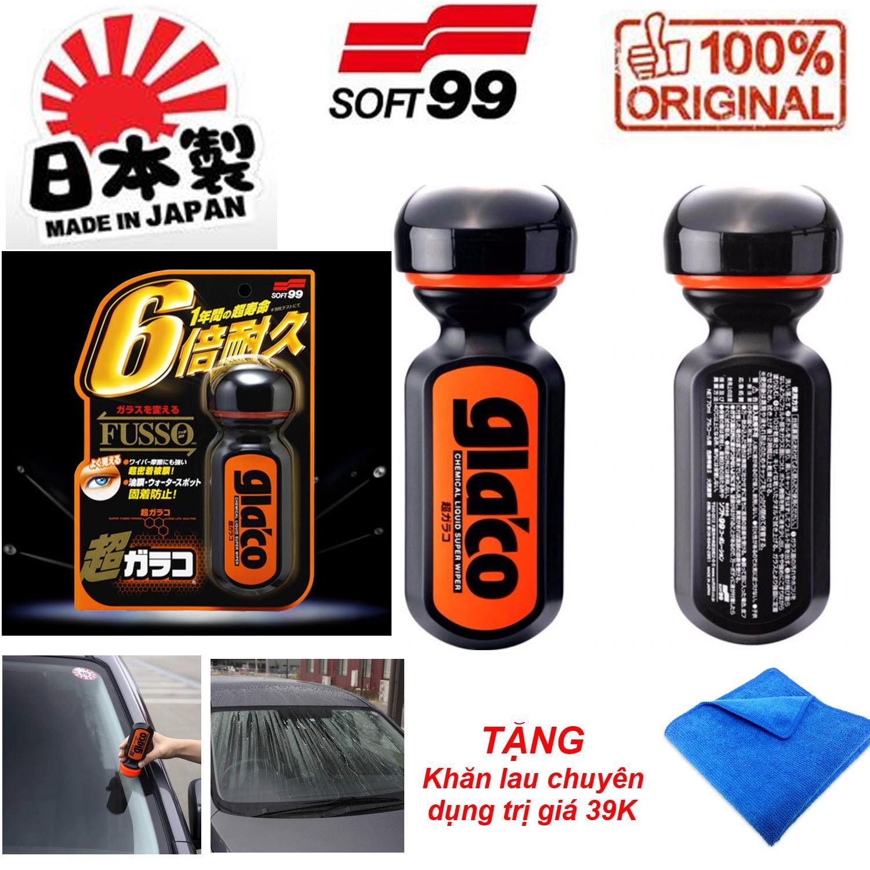 Ultra Glaco Soft99 - Phủ Nano kính 12 tháng + TẶNG khăn lau chuyên dụng trị giá 59K