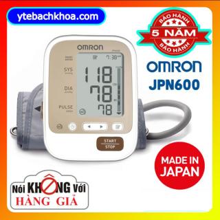 [BẢN CHUẨN] Mua Máy Đo Huyết Áp Điện Tử Chất Lượng, Giá Tốt - Máy Đo Huyết Áp Bắp Tay Tự Động Omron Jpn600 Nhật Bản thiết kế nhỏ gọn, màn hình LCD lớn, nút bấm to rõ giúp người dùng dễ quan sát và thao tác Khi sử dụng thumbnail