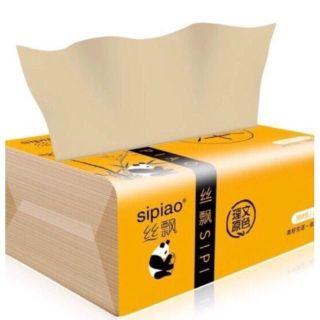 Giấy Ăn Gấu Trúc Sipiao - Bịch 300 Tờ thumbnail