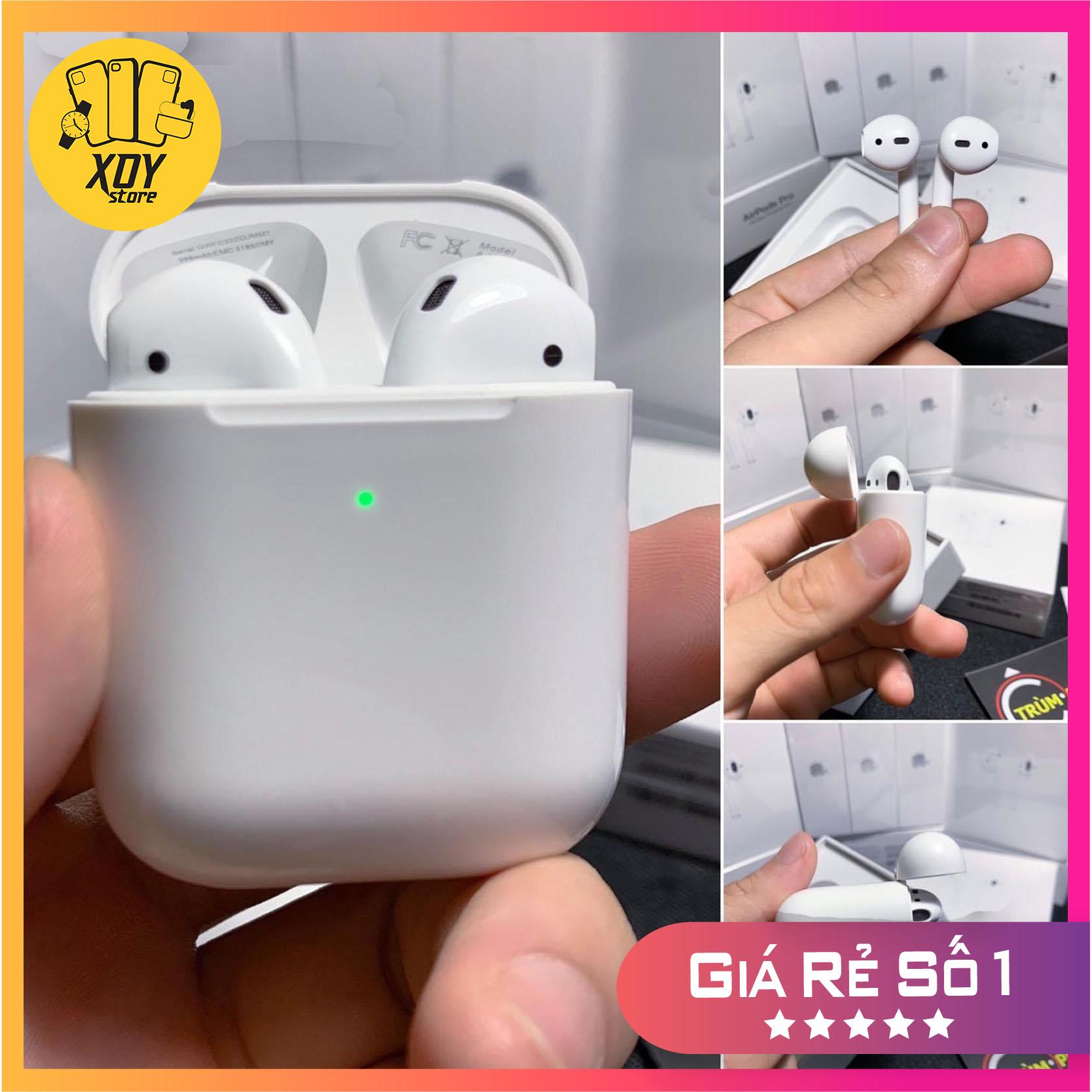 [Airpods 2]Tai nghe Bluetooth Airpods 2 – Bản full chức năng – Hỗ trợ sạc không dây - Bảo hành 1 đổi 1trong 3 tháng
