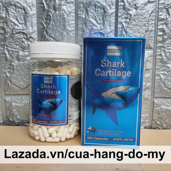 Viên uống Sụn Cá Mập Costar Blue Shark Cartilage 750mg 365 viên - Hỗ trợ sức khỏe xương khớp