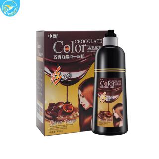 Thuốc nhuộm tóc màu NHO TÍM thuốc nhuộm không cần pha thêm phụ gia lên đúng màu ,mềm mượt , không gây kích ứng da đầu thumbnail