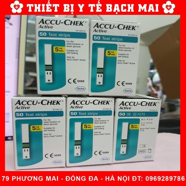 Que Thử Đường Huyết Accu Check Active 25/50 Que - Hộp 50 que bán chạy