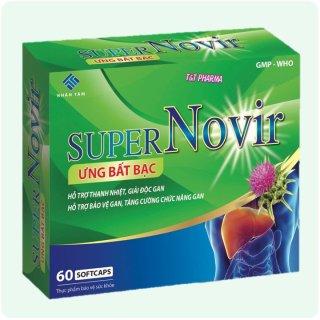 Viên Uống Thải Độc Gan Super Novir Ưng Bất Bạc- thumbnail