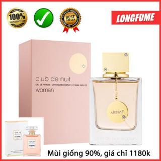 [SALES SỐC + MIỄN SHIP] Nước hoa nữ Club De Nuit Woman 105ml EDP có mùi hương giống Coco Trắng - Nước hoa Pháp sỉ lẻ giá tốt có cửa hàng uy tín Quận 10 TPHCM thumbnail