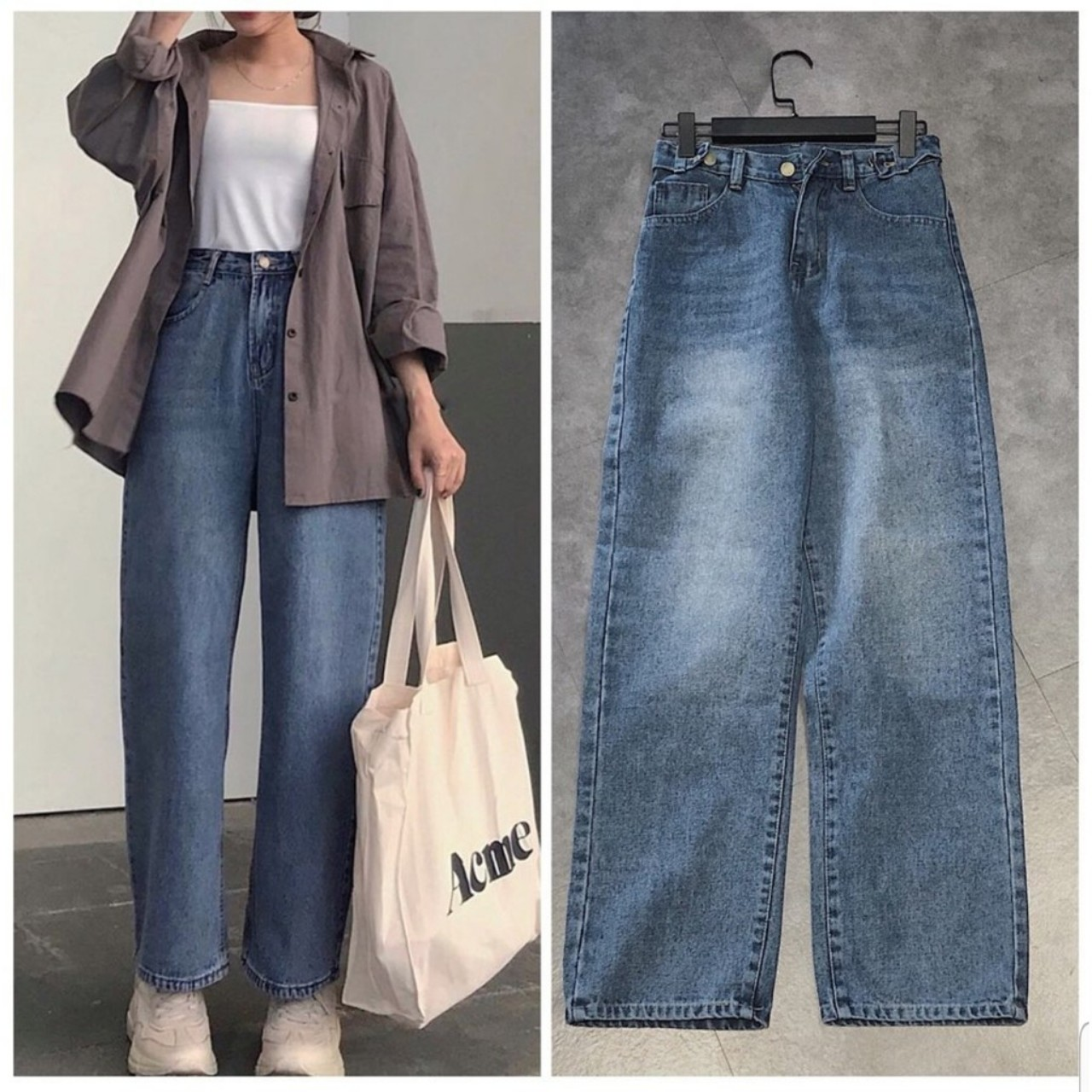 quần jean nữ cao cấp, Quần Jean nữ cao cấp cực PHONG CÁCH dành cho bạn trẻ hiện đại
