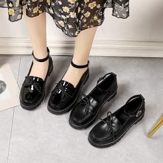 Vintage Mary Janes Giày Nữ Nữ Giày Giày Đi Học Giày Búp Bê Cho Phụ Nữ Giày Ba-lê Đế Bằng Cho Phụ Nữ Trên Doanh Số Bán Hàng 110923