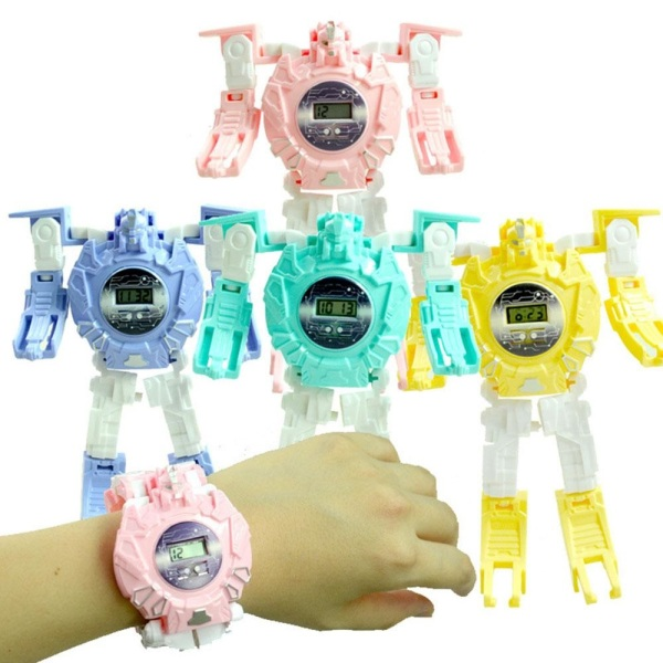 Nơi bán Đồng hồ điện tử đeo tay trẻ em bé có chức năng đồ chơi rô bốt biến hình có ngăn để đồ nhỏ