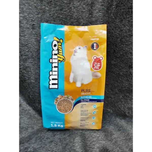 Thức Ăn Cho Mèo Minino Yum [1,5Kg]