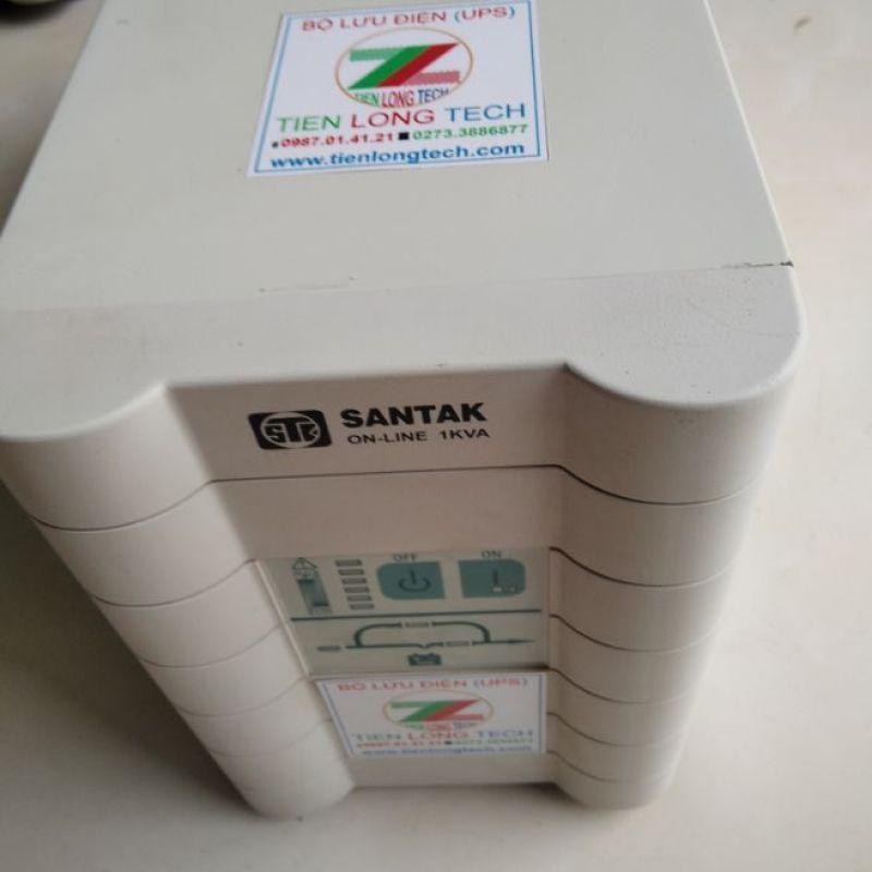 Bảng giá BỘ LƯU ĐIỆN UPS SANTAK ONLINE C1K 1KVA-700W Phong Vũ