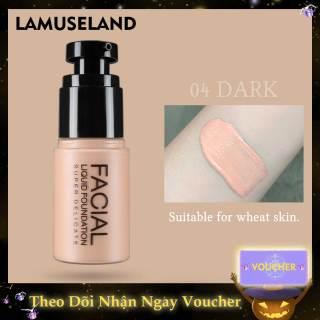 LAMUSELAND Long-lasting 4 Colors Face Velvet Foundation Liquid thumbnail