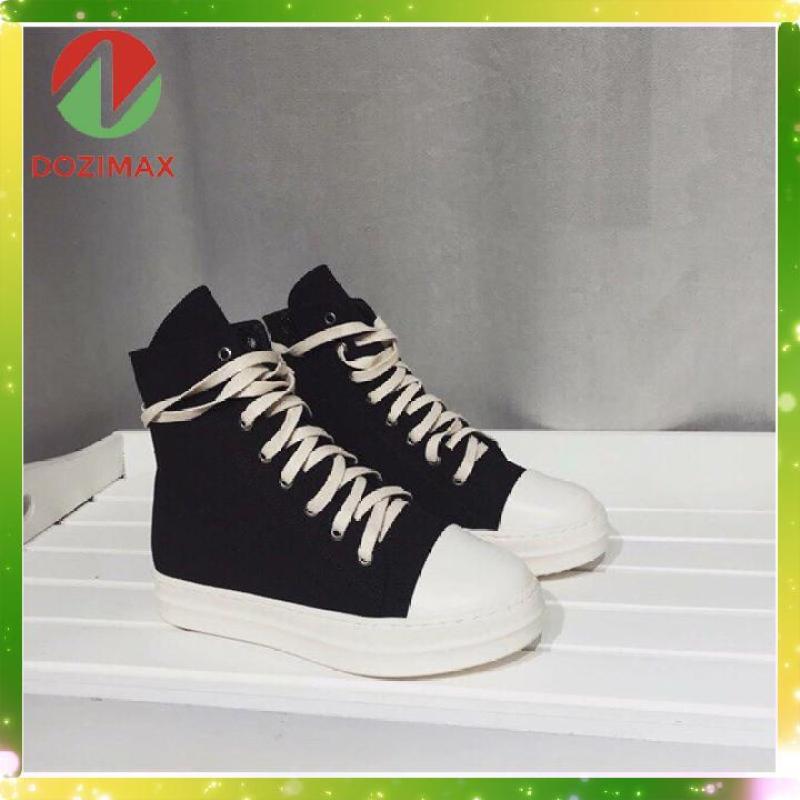 Giày RO cổ cao  - RO01 – giày Rick Hot trend - giày sneaker nữ đẹp - giày học sinh nữ - giày thể thao nữ 2019 - giầy nữ - giầy sneaker nữ - giày thể thao cao cổ buộc dây – giày boot chiến binh – giày vải nữ cao cổ - giày sneaker nữ 2019
