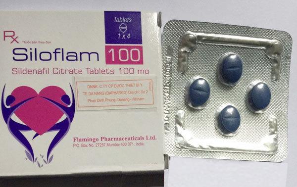 Siloflam100 -  Bổ thận, tăng sung mãn, khẳng định bản lĩnh đàn ông ( hộp 4 viên nhập khẩu